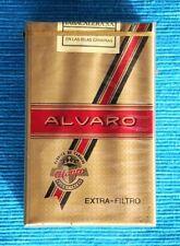 ALVARO, Antiguo paquete cigarrillos TABACALERA. NUEVO, PRECINTADO, COLECCIONISTA