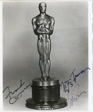 FRANK CAPRA, SYDNEY POLLACK, MILOS FORMAN: Oscar Winning Directors Autographed