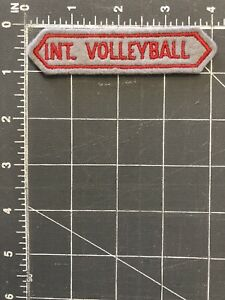Int. Volleyball Patch FIVB International Federation of Internationale de CEV VB