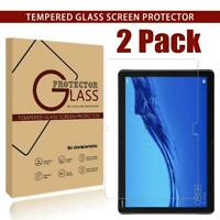 2 Pack Tempered Glass Screen Protector For Huawei MediaPad M5 Lite 10.1 inch