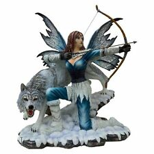 Wildling Princess Fairy & Wolf Figurine  / Nemesis Now  / Stunning