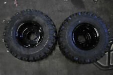 KFX400-QUADBOSS-Rear-Wheels-Tires-on-Black-BOSS-RACING-Rims-20x11-9