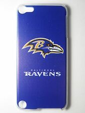 NFL Baltimore Ravens Logo iPod Touch iTouch 5/6th Plastic One-Piece Slim Case