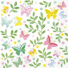 Carta da regalo in rotoli, tema farfalle