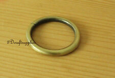 metal O rings O-ring purse ring connector anti brass 32 mm 1 1/4 inch 10pcs U111