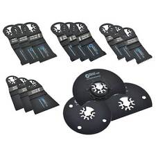 Universal Oscillating Saw Blade Kit - MB3A3B3C3D1H1I1J (15 Piece, 7 Blade Types)
