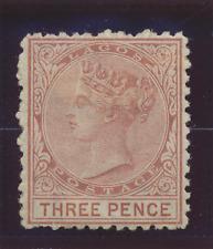 Lagos Stamp Scott #3, Mint Hinged, Crease