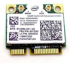 OEM Laptop WIFI Wireless Card Intel Centrino Advanced-N 6205 62205ANHMW 60Y3253