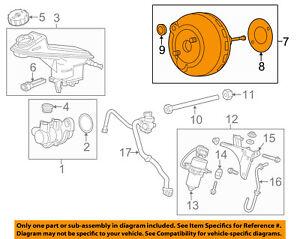 GM OEM-Power Brake Booster 95491189