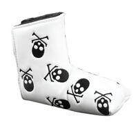 1X Golf Cover Blade Putter Head Cover Skull Headcover For Scotty Cameron Odyssey