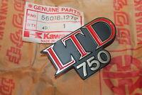 Kawasaki LTD 750 NOS Emblem OEM 56018-1279