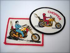 Vintage Patch CHOPPER Old-school Biker Motorcycle Harley Davidson Rocker parche