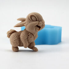 Handmade Soap Silicone Mold Rabbit Shape Craft Resin Clay Chocolate Candy