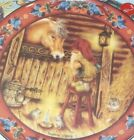 Julestemning Suzanne Toftey Norwegian Gnome 8 1/4' Plate No. 3 w/Sticker & Box