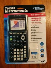 Texas Instruments Ti-84 Plus Ce Graphing Calculator Sealed New