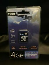 Vivitar SDHC 4 GB Memory Card New