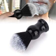 Men Shaving Bear Brush Best Badger Hair Shave Wood Handle  Barber Tool Black