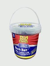 STV BIG Cheese Ultra Power Bait Bloque Rata Killer estación Recargas STV568 Pk15