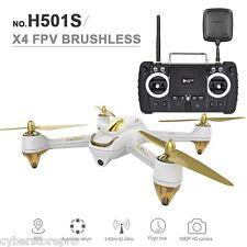 HUBSAN H501S x 4 5.8G FPV 10ch sans brosse 1080P Caméra GPS quadricoptère rc