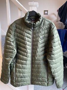 Berghaus Mens Tephra Reflect 2.0 Down Jacket Dark Green XL