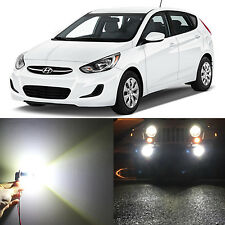 Alla Lighting Fog Light 881 Super White 50W LED Bulbs for 2000~17 Hyundai Accent
