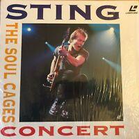 STING - THE SOUL CAGES CONCERT - PAL LASERDISC