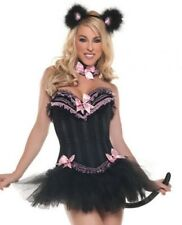 SEXY Halloween COSTUME Starline CAROUSEL KITTY Cat CatWoman Naughty Cosplay S