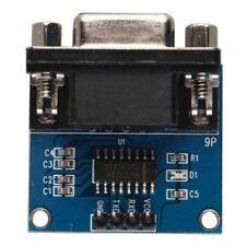 MAX3232 RS232 A Puerto Serial TTL Convertidor Módulo de transceptor Hembra DB9 D-sub