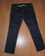 "Ladies River Island Dark Denim Sleek & Slim Jeans UK 14 Ex Cond 28"" Leg"