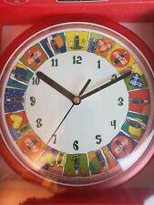 "Coca Cola Wall Clock Coke Clock 8"" New ad Andy Warhol like 80s look unopened nib"
