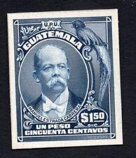 Guatemala 1900s un peso stamp MH Proof R!R!R!