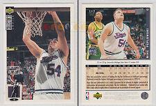 NBA UPPER DECK 1994 COLLECTOR'S CHOICE - Mike Peplowski #117 - Ita/Eng- NM