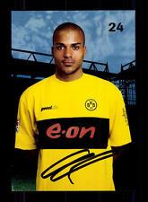 David Odonkor AUTOGRAFO biglietto Borussia Dortmund 2002-03 ORIGINALE SIGN + a 131437