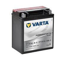 Varta Powersports AGM ytx16-4-1 ytx16-bs-1 Batería de la Motocicleta 14ah
