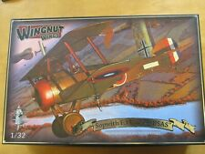 1/32 Wingnut Wings Sopwith F.1 Camel USAS (Le Clerget engine sprue) + extras