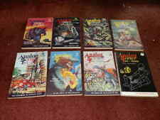 ANALOG Science Fiction Magazines 1961..8 ISSUES.SUPERB ORDER