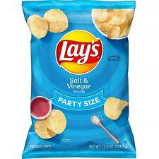 Lay's, Party Size, Salt & Vinegar Flavored, Potato Chips