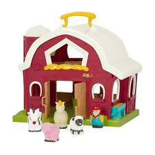 Animal Farm Playset for Toddlers Education Big Red Barn Kids Preschool Toy Gift