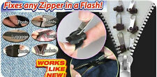 6 PACK INSTANT ZIP ZIPPER FIXER FIXING KIT CLOTHES TENTS SUITCASES