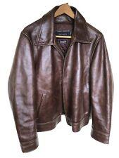 New listing Vintage 1980's Jim & Marylou Motorcycle Zipper Leather Jacket Size Large