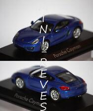 Norev Porsche Cayman 2013 Bleu 1/43 750031