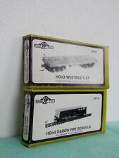 RERE Vintage DURANGO PRESS DP-114 D&RGW Pipe Gondola & DP-50 Westside Flat HOn3