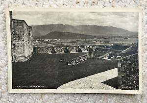 STIRLING CASTLE, THE SPUR BATTERY 1949 POSTCARD
