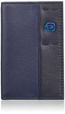 Accessoires porte-cartes bleus Piquadro pour homme