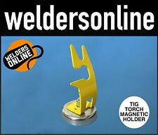 MAGNETIC TIG TORCH HOLDER / STAND - GUN COLLET - FREE DELIVERY