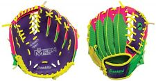 "Franklin MeshTek Youth Baseball TeeBall 9.5"" Neon Color Glove, Right Hand Throw"