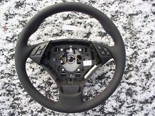 BMW E60 E61 07-10 NEW LEATHER HEATED STEERING WHEEL/THUMB RESTS/M STYLE STITCH