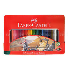Faber Castell Classic Color estaño lápiz Set De 36 Lápices De Colores