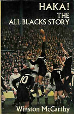 HAKA, THE ALL BLACKS STORY RUGBY BOOK by McCARTHY