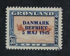 CKStamps: Greenland Stamps Collection Scott#24 Mint H OG